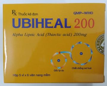 UBIHEAL 200 (Alpha Lipoic Acid/ Thiotic Acid)
