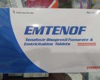 EMTENOF (Emtricitabin và Tenofovir disoproxil fumarat)