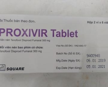 PROXIVIR (Tenofovir disoproxil fumarat 300 mg)