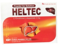 Heltec (L-Ornithin – L-Aspartat 3000 mg)