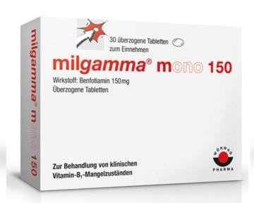 Milgamma mono 150 (Benfotiamin)
