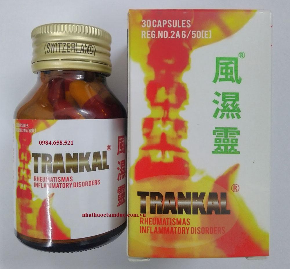 Thuốc khớp Phong Thấp Linh TRANKAL của Thái Lan