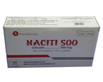 Naciti 500 (Citicoline 500 mg)
