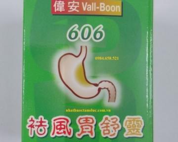Thuốc Antacid Tablets 606 Vall - Bool chữa đau dạ dày, trào ngược dạ dày - thực quản