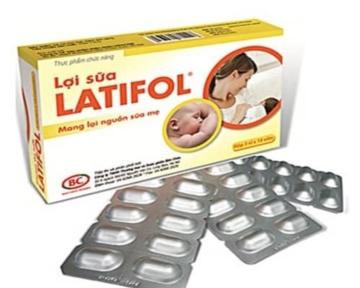 LATIFOL giúp lợi sữa, tăng tiết sữa cho phụ nữ ít sữa