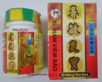 Thuốc Bì Mẫm Viêm Bão (Bi Ming Yan Bao) chữa bệnh viêm mũi dị ứng, viêm xoang