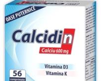 Calcidin bổ sung Canxi, Vitamin D3 & Vitamin K