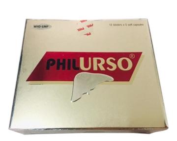 PHILURSO (Acid ursodeoxycholic & Vitamin nhóm B)