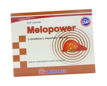 Melopower (L – Ornithin L – Aspartat)