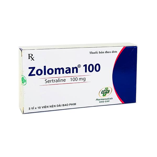 Zoloman (Setralin) 25mg, 50mg & 100mg
