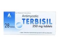 TERBISIL 250 mg Tablets (Terbinafine)