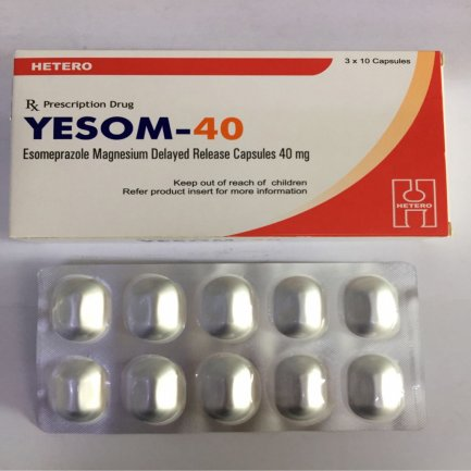 YESOM - 40 (Esomeprazol 40 mg)