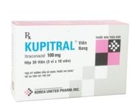 KUPITRAL Itraconazol 100 mg