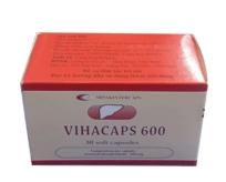 VIHACAPS 600 (Phospholipid đậu nành)