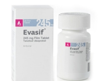 EVASIF 245 MG (Viên nén bao phim tenofovir disoproxil 245 mg)